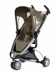 Quinny Zapp Stroller with universal car seat adapter