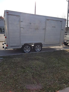 14FT Utility Trailer 100% ALUMINUM Dual Axles Only $3900.00