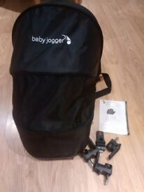 Baby jogger city mini compact carry cot and adaptors