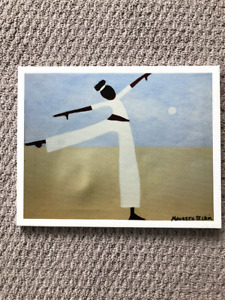 Yoga picture - print from a painting