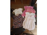 Small bundle of baby clothes 3-6 months