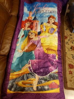 Disney Fearless Dreamers Princess Sleeping Bag  - Princess Sleeping Bags