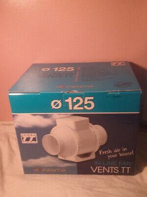 Extractor de aire Vents TT 125 Dual Fan 220//280 m/³//h 125mm