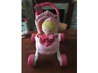 Fisher Price Mummy musical Stroller and Princess doll