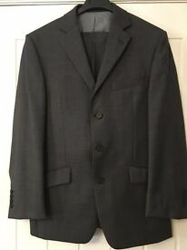 M&S Ultimate Performance 2 piece Suit - Grey Wool