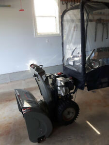 Craftsman Snowblower with Cab