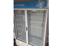Framec Italian Double Door Display Freezer / Glass Door Display Freezer