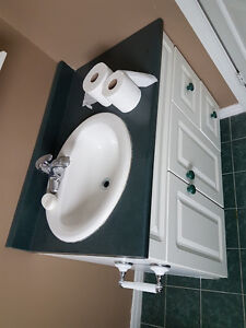 36 vanity - sink and faucet included - Excellent shape