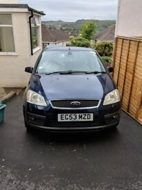 Ford Focus C MAX GHIA TCDI 2004 - Full Service History
