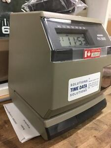 PIX 3000X / TIME CLOCK / PUNCH CLOCK /500 TIME CARDS FREE