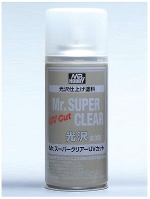 Mr  Hobby Mr  Super Clear Gloss Uv Cut Spray 170Ml B522 B 522 Model Kit