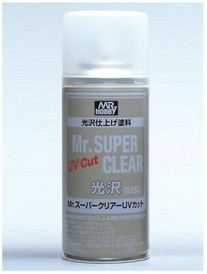 Mr. Hobby Mr. Super Clear Gloss UV Cut 170ml B522 B-522 Model Kit