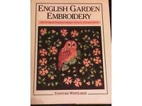 English garden embroidery