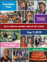 Barrie and District 2015 Labour Day Picnic