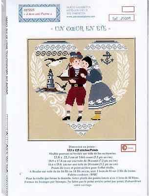 "Шаблоны French Cross Stitch chart ""Un"