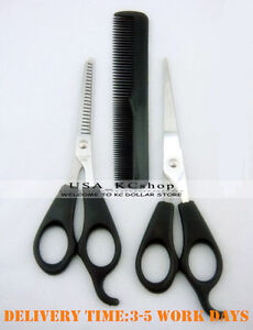 New Professional Hair Cutting Thinning Scissors Barber Shears Hairdresser set