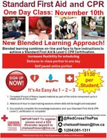 Blended Standard First Aid in The Pas .. will travel for groups!