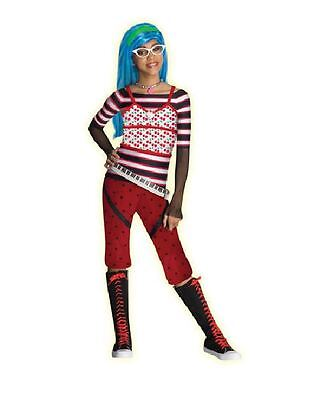 Monster High Ghoulia Yelps Girls Costume Size 10-12 Halloween Outfit NEW!](Monster High Ghoulia Yelps Halloween Costumes)