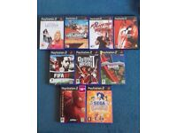 2 x PS2 with 9 games