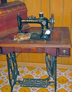 Antique New Williams Sewing machine