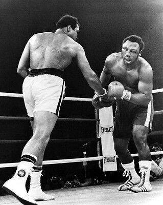 1975 JOE FRAZIER vs MUHAMMAD ALI Glossy 8x10 Photo 'Thrilla in Manila'