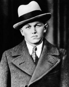 Bank Robber GEORGE 'BABY FACE' NELSON Glossy 8x10 Photo Print Gangster Poster