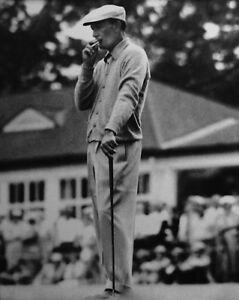 1953 American Golfer BEN HOGAN Smoking Glossy 8x10 Photo Golf US Open Poster