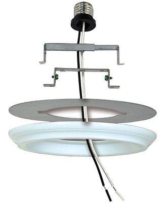 50lb Pendant Fixture Recessed Can Light Converter Paintable Decorative Medallion