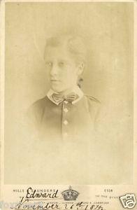 PRINCE-ALBERT-VICTOR-EDWARD-Signed-Photograph-British-Royalty