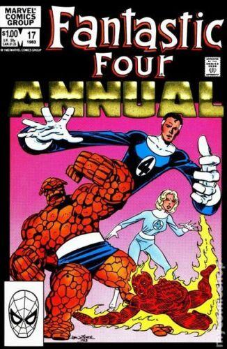 Fantastic Four Annual #17 (1983) Marvel Comics