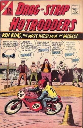 DRAG-STRAP HOTRODDERS #13 G/VG, Charlton Comics 1967
