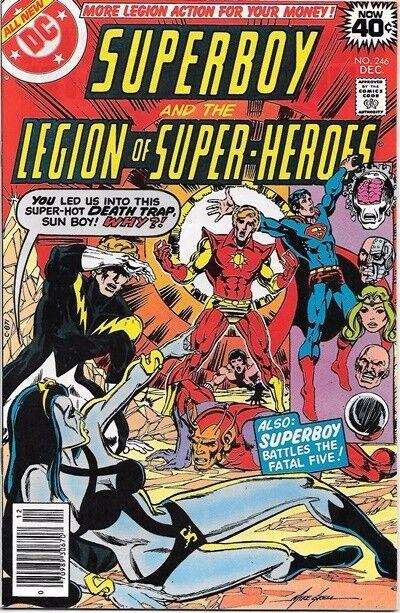Superboy Comic Book #246 DC Comics 1978 NEAR MINT