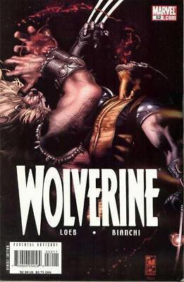 Wolverine #52A, Loeb Story, Simone Bianchi Art, NM 9.4, 1st Print, 2007