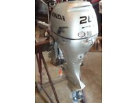 20hp Honda outboard 4stroke