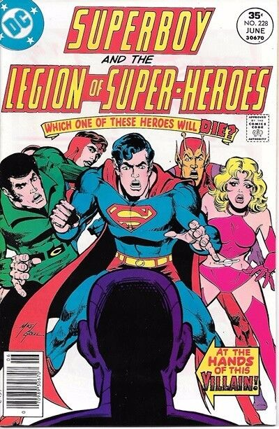 Superboy Comic Book #228 DC Comics 1977 NEAR MINT