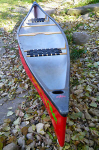 1 yr old 16 ft, Canoe with lower price London Ontario image 2