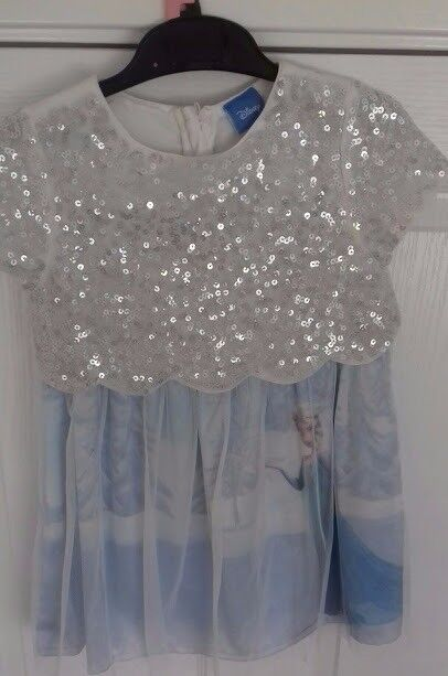 Disney Frozen Party Dress age 4-5 years VGC perfect for Party season
