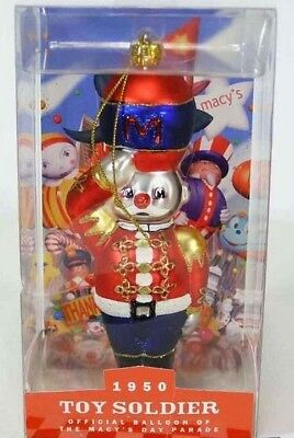 1950 TOY SOLDIER MACY'S THANKSGIVING DAY PARADE MACY COLLECTOR BRAND NEW NIB