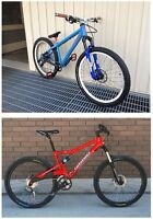 Cannondale RUSH SL - Red + Blue & White