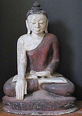 Huge Buddha Alabaster, Burma