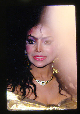 LATOYA JACKSON 35mm SLIDE TRANSPARENCY Better Than What You See 6/10/88 TRUMP