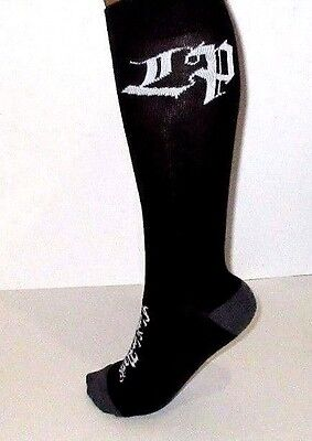 LINKIN PARK LP KNEE-HI BLACK SOCKS