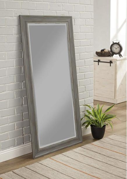 large full length mirror floor leaner living