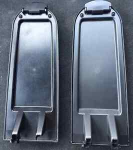 black leather VW armrest center console lid jetta beetle golf