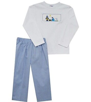 Boys SILLY GOOSE Christmas nativity outfit 18M NWT t shirt pants 18 months 12-18