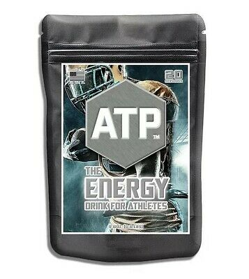 ATP Energy The Energy Drink For Athletes. The Best Drink Mix on the
