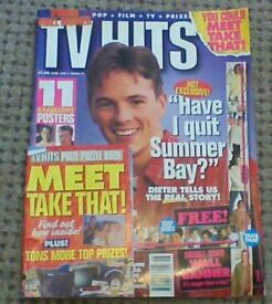 TV hits magazines
