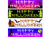 Happy Halloween Banners to decorate your house or business premises. Arnold, Nottingham