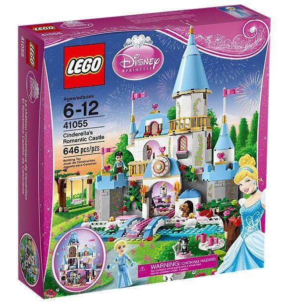 LEGO® Disney Princess 41055 Cinderella's Romantic Castle NEU OVP NEW MISB NRFB