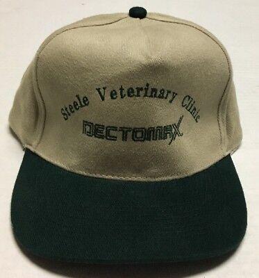 Steele Veterinary Clinic Hat North Dakota Cap Dectomax Cattle Swine Treatment ND